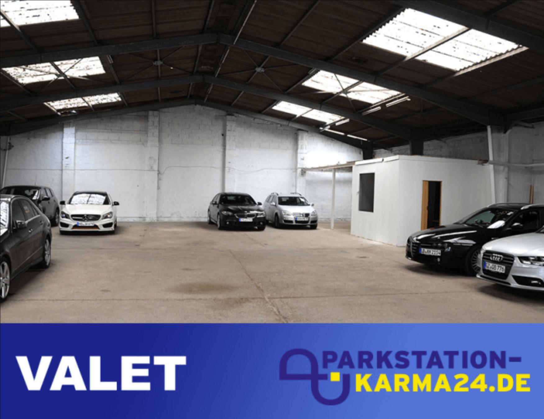 Parkstation-Karma24.de bei Valet Parking Frankfurt